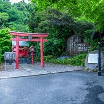 殿湯神社。神の地の霧島。どなたでも参拝可能です。