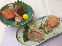 季節の和膳コース:前菜・造り