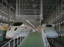 新幹線検車庫