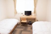 洋室 ツインルーム 3部屋