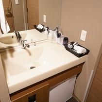 ■客室洗面台■