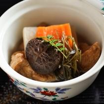 精進料理(野菜の炊合せ)