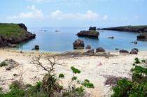 伊良部島でシュノーケリングといえばとりあえずカヤフィア(中の島海岸)。アマカから自転車で15分ほど。
