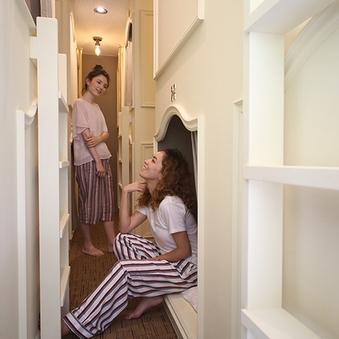女性専用ドミトリールーム