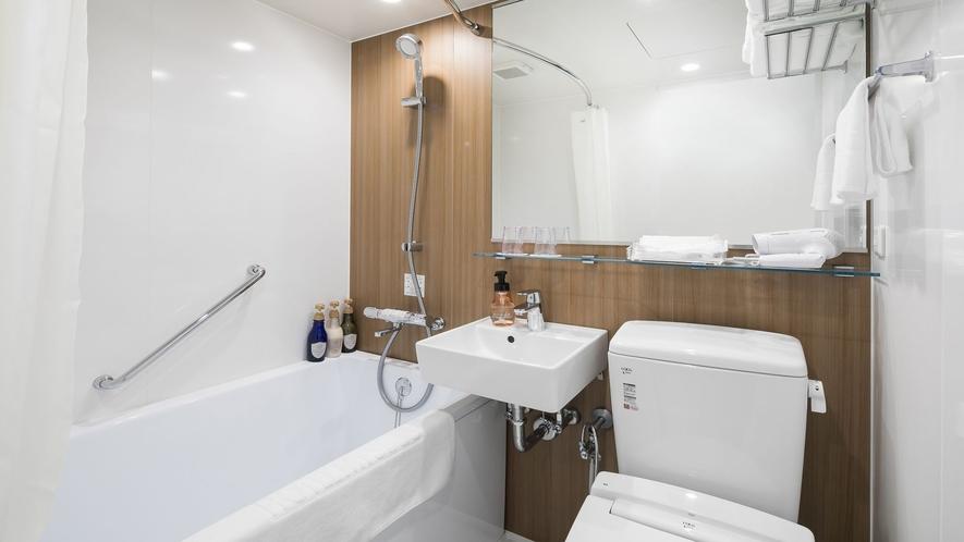 スタンダードクイーン バスルーム一例