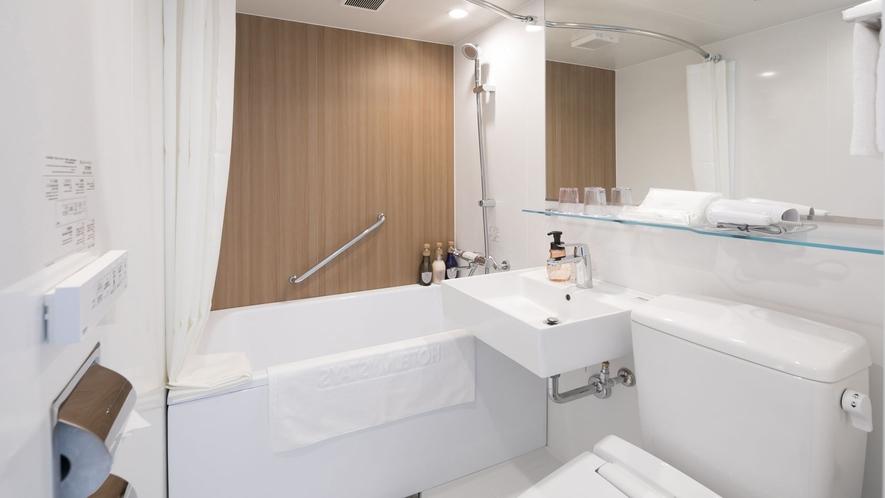 スタンダードキング バスルーム一例