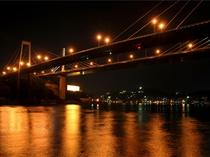 尾道大橋&尾道水道の夜景