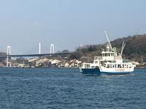 尾道水道と渡船