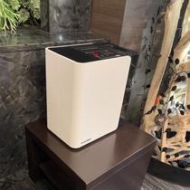 共用スペースに空気清浄器を増設(ロビー2)