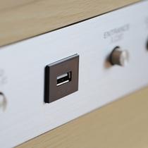 客室内設備(USB差込口)