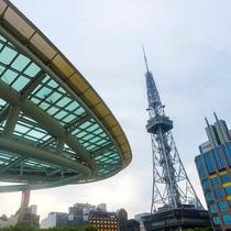 名古屋テレビ塔までは徒歩7分