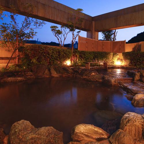 姉妹館「花ゆづき」の屋上露天風呂