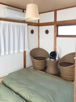 【女性専用フロア】和室6畳(洗面付き)