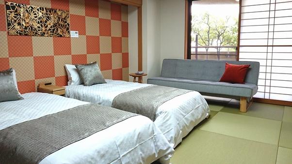 【禁煙】和室ベッド【ダイニング食】和室10畳 Wi-Fi