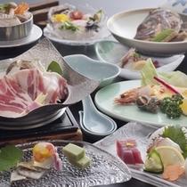 甘とろポパイ鍋会席夏(ファミリー)料理イメージ