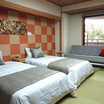 和室ベッド付客室一例