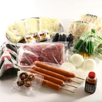 ☆BBQ料理(食材の一例)