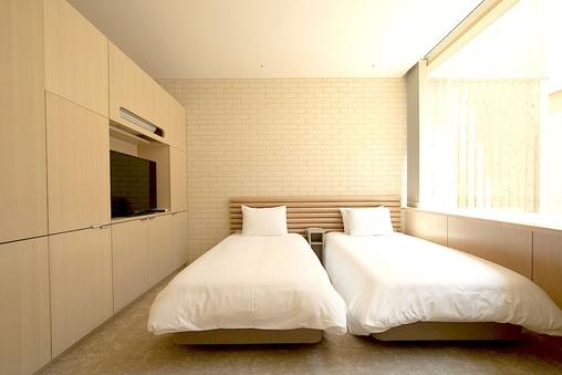 ツインルーム(90cm幅のベッド)
