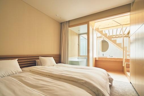 メゾネットルーム☆2階建ての当館一番人気のお部屋☆