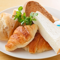 朝食:パン
