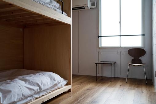 ドミトリー男女兼用 1~2人部屋