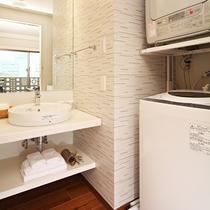 【洗面台/洗濯機/乾燥機】全室