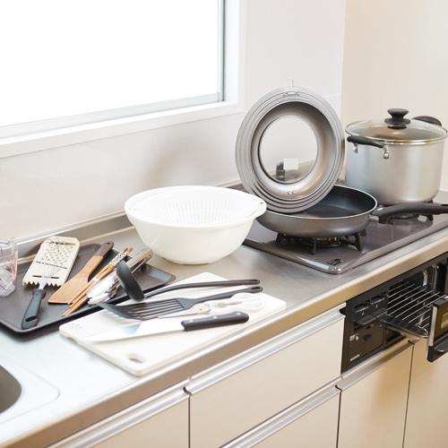 調理器具も取り揃えております