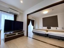 601寝室とリビング