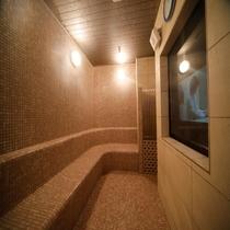 ◆女性大浴場内スチームサウナ  営業時間15:00~深夜1:00、早朝5:00~10:00