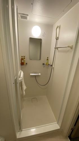 ◆客室シャワー※エコノミーダブル・エコノミーセミダブルにはございません