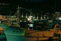 勝本湾から見るLAMP