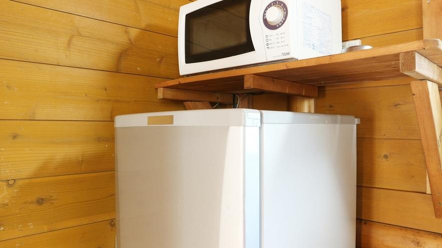 *[コテージ一例]冷暖房・冷蔵庫・電子レンジ等完備!