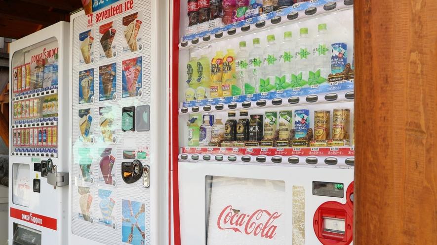 *【BBQハウス】清涼飲料水やアイスの販売もございます。