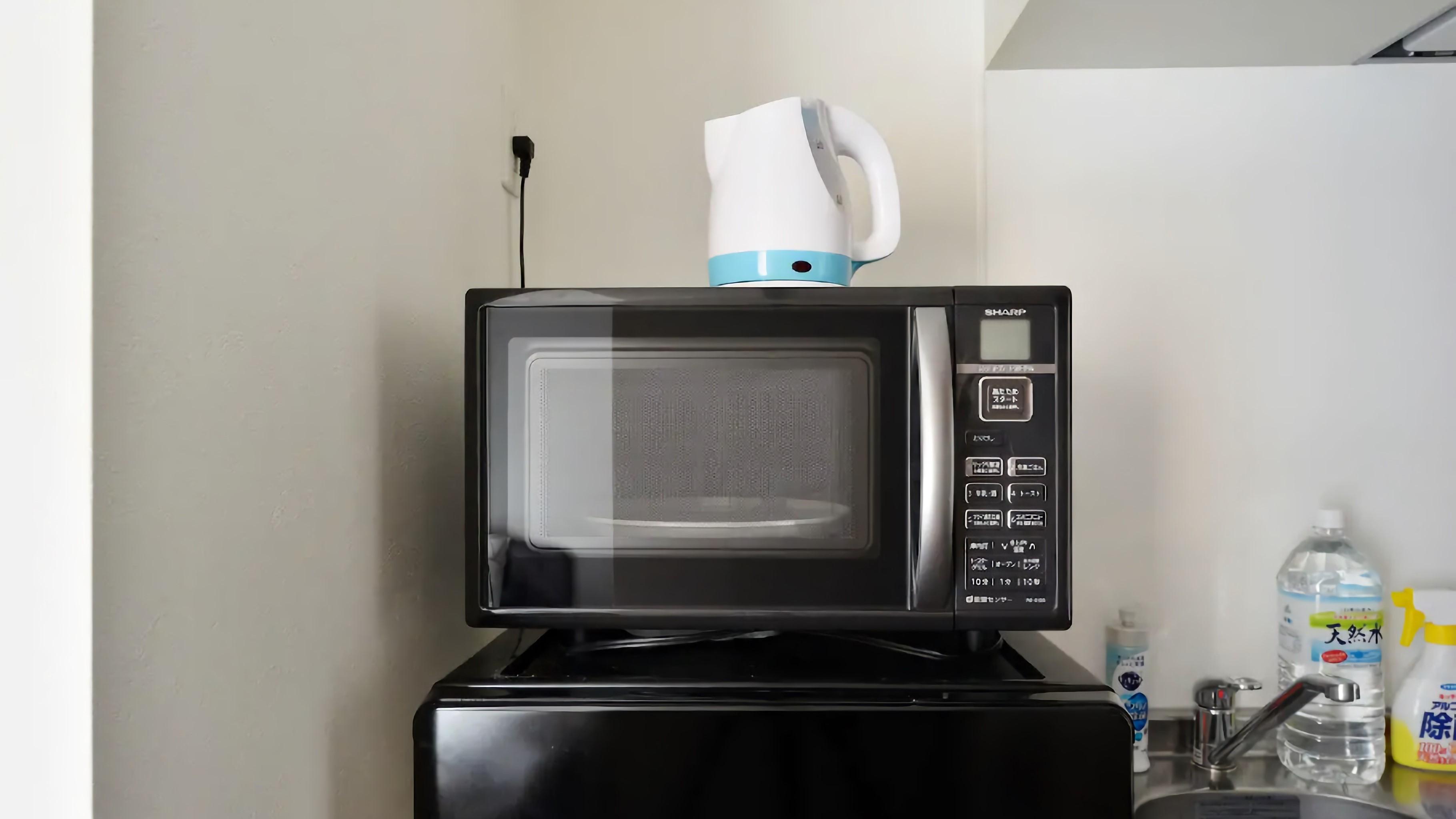 客室内電子レンジ