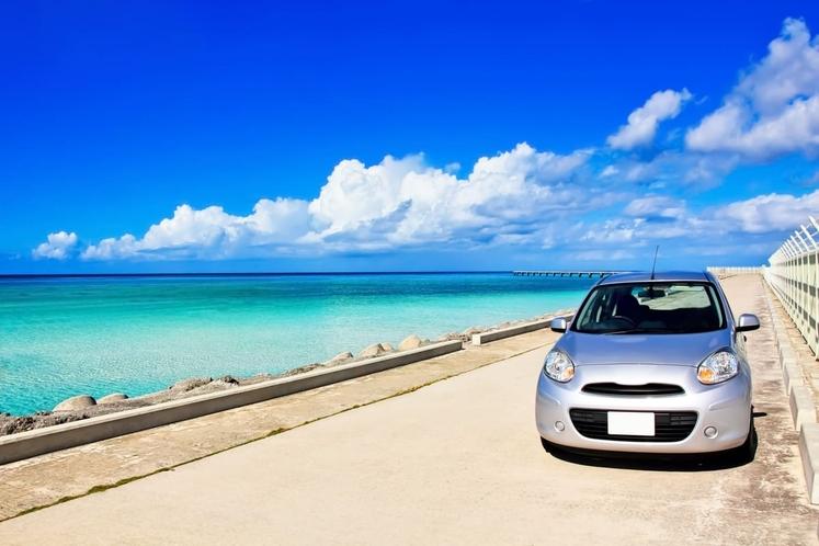 「坂手港」でレンタカーを借りられます。