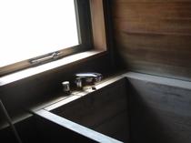 【和洋室】檜風呂