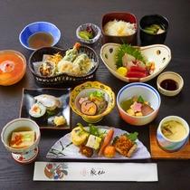 【夕食】うるわし~京の味覚、文化を伝える~ 会席料理を町家のお部屋までお届けいたします