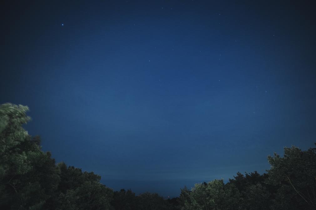 晴れた日には満天の星空をお楽しみください。