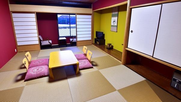 ◆【デラックスルーム】【禁煙】4名部屋 琉球畳を使用した和室