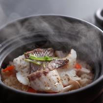 根菜と紅葉鯛の釜戸炊き和風パエリア(秋メニュー・夕食イメージ)