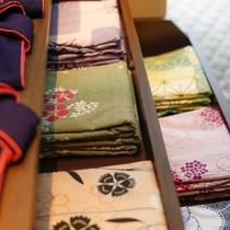 女性のお客様は色浴衣もお選びいただけます