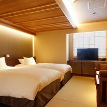 モデレート和室Dベッド付(32平米)(一例)