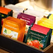 【フリーラウンジ】多彩な紅茶やハーブティもご用意しています