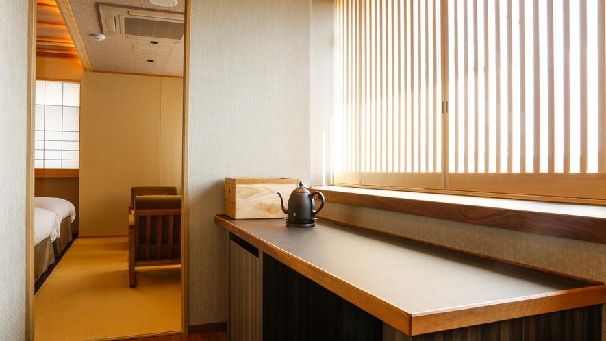 モデレートコーナー和室Bベッド付(36平米)