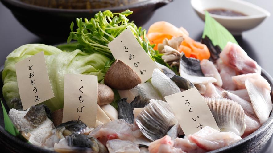 淡路島3年とらふぐ コラーゲンたっぷりの美福鍋(冬メニュー・夕食イメージ)