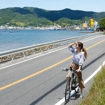 【カムカムレンタルサービス】レンタサイクルで海沿いや湊町の散策もおすすめ(徒歩4分)