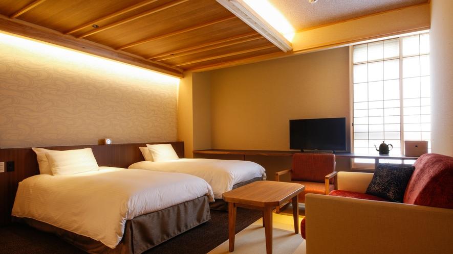モデレート和室Cベッド付(39平米)(一例)