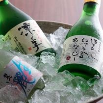 淡路島の地酒をお料理に合わせてお愉しみください(イメージ)
