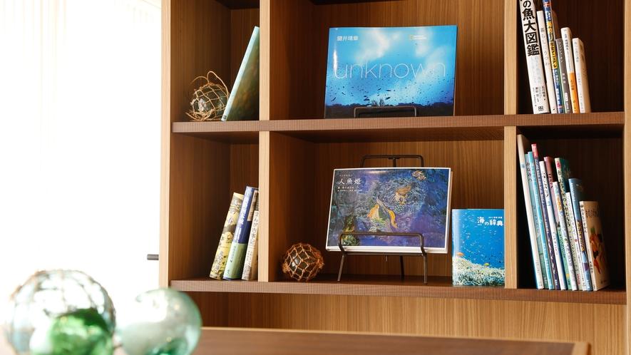 【ミニライブラリー】淡路島や海に纏わる書籍を揃えました