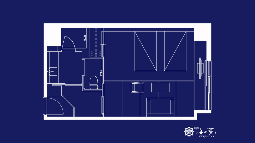 モデレート和室Cベッド付(39平米)